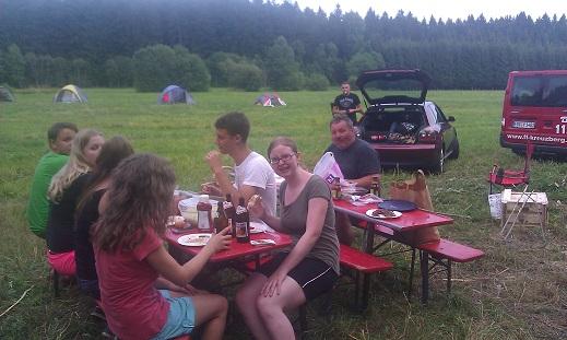 Zelten - Bachwiese