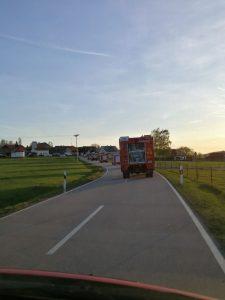 FF-Neureut - Fahrt nach Neureut