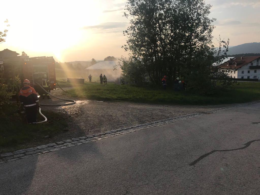 Hauptübung - 04.05.2018: Wasserentnahme aus Hydranten
