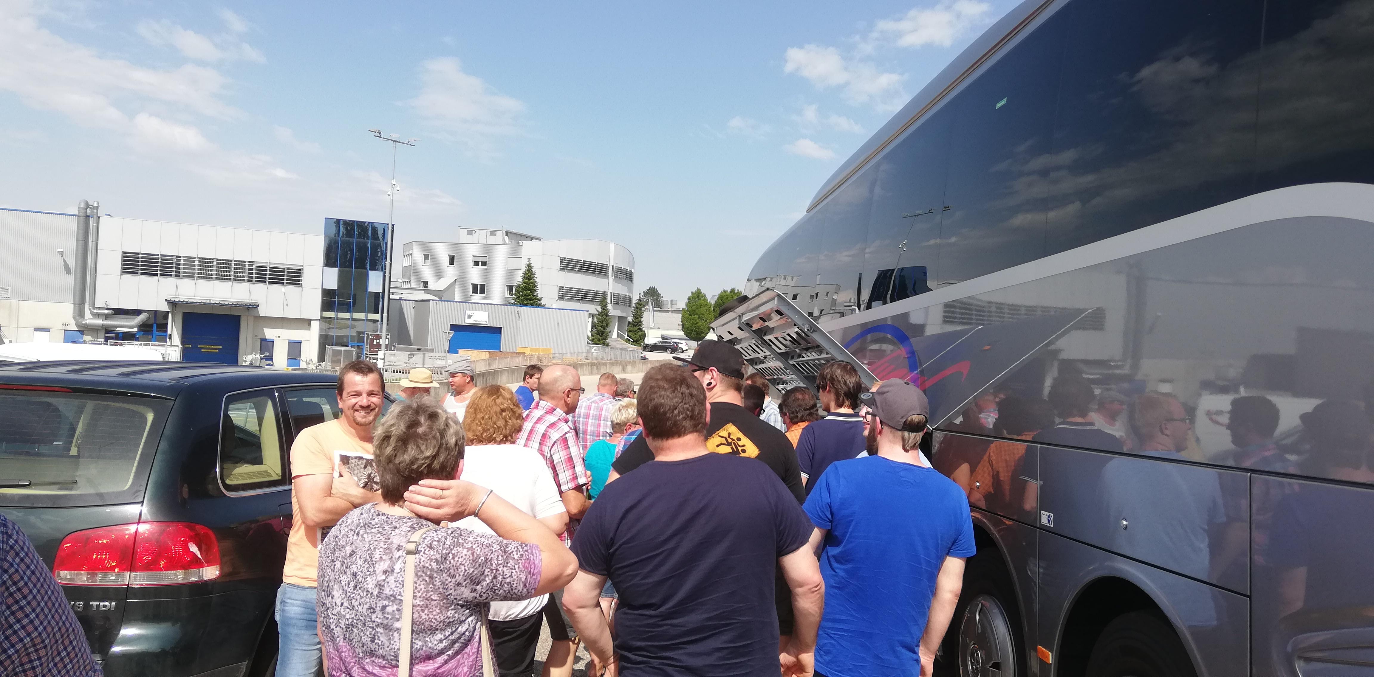 Vereinsausflug - Brotzeit