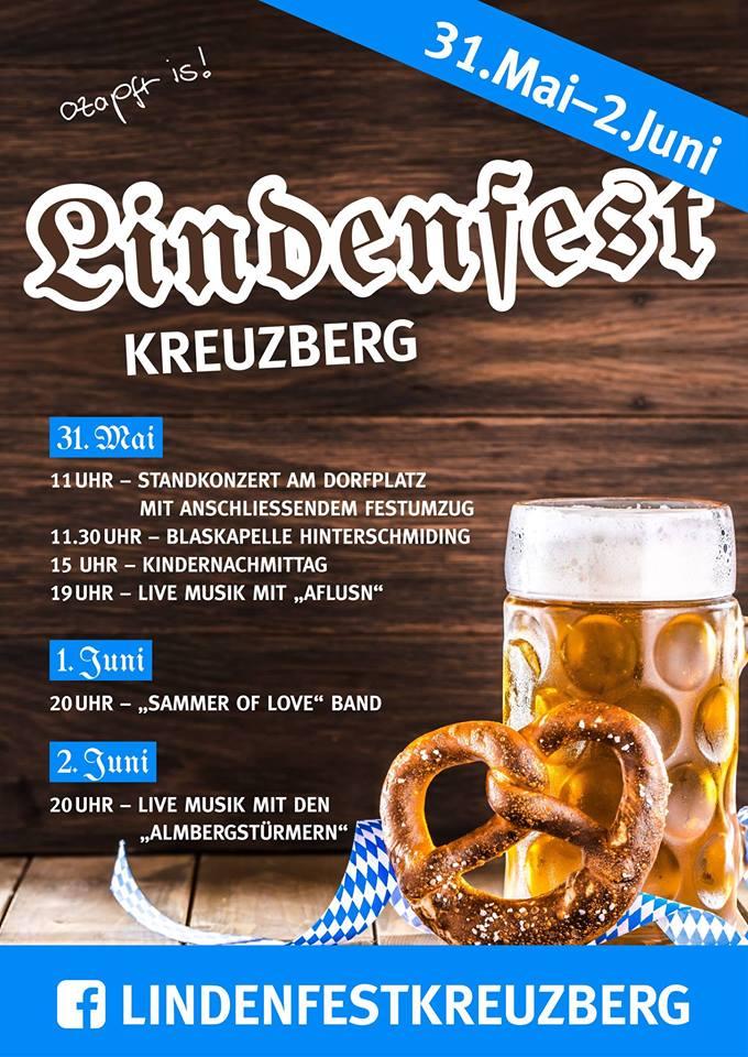 Flyer Lindenfest 2018