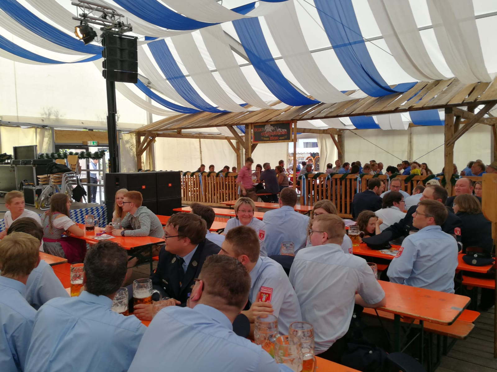 Volksfestaufzug 2018 – Bierzelt