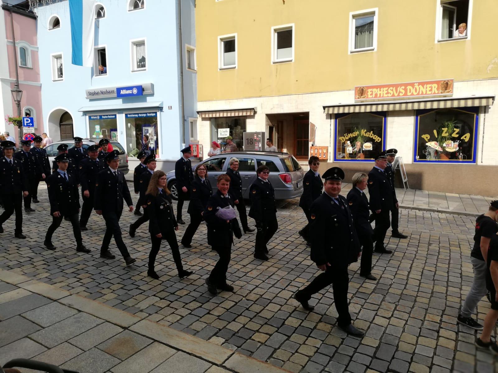 Volksfestaufzug 2018 – Stadtplatz Freyung
