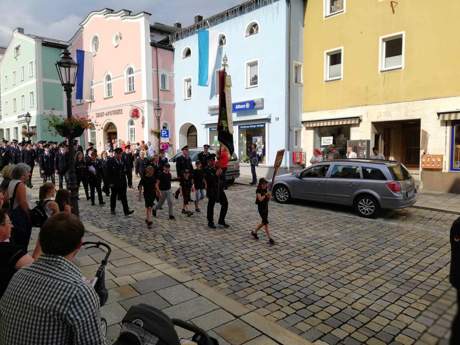 Volksfestaufzug 2018 - Stadtplatz Freyung