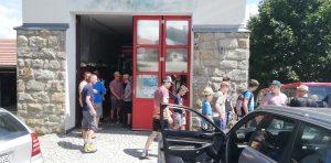 Abfahrt vom Feuerwehrhaus