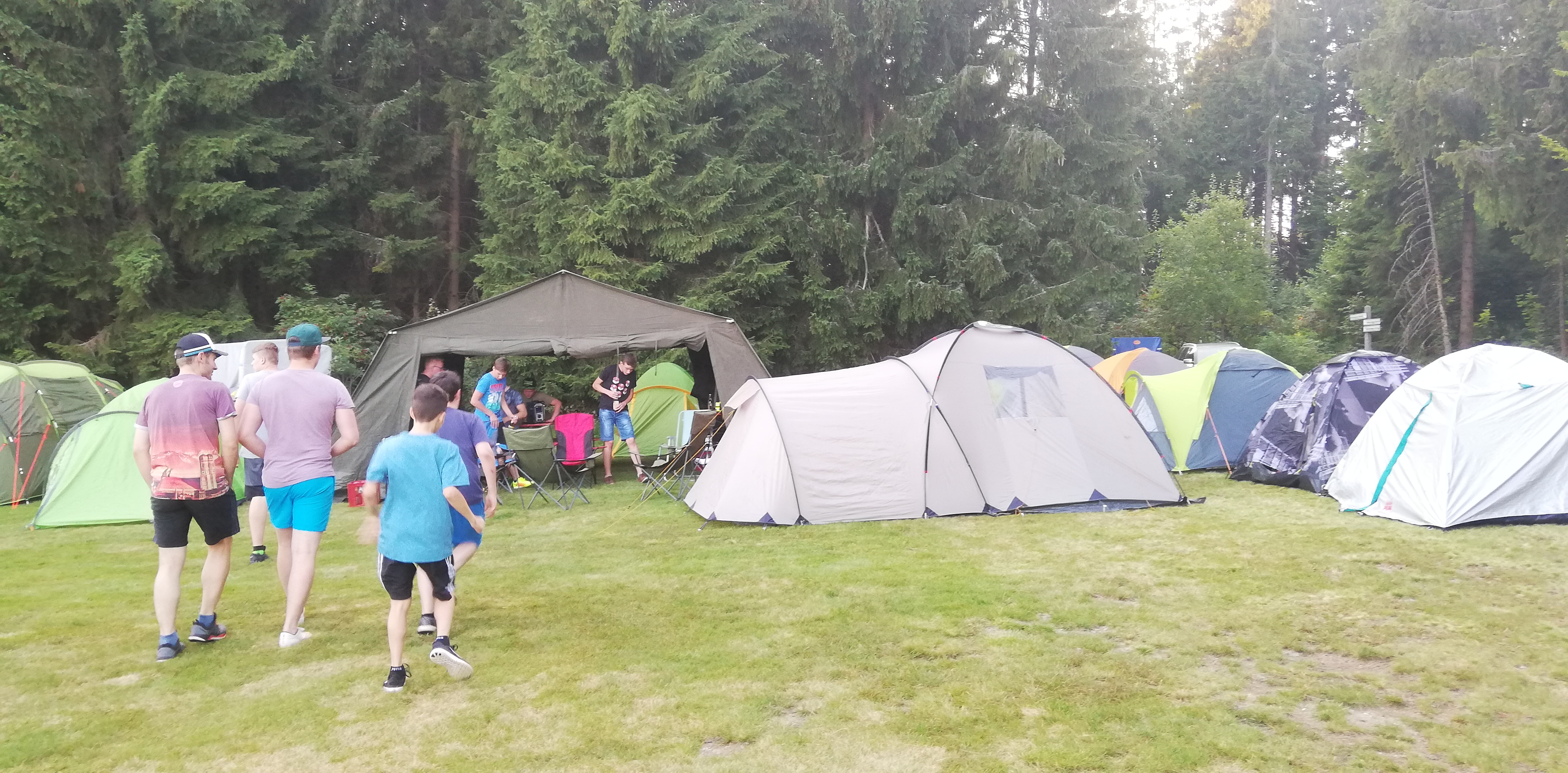 Unser Lager von Vorne