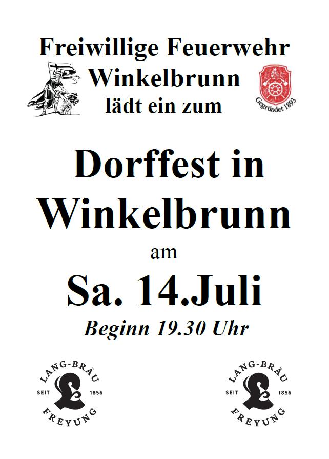 Dorffest – Winkelbrunn