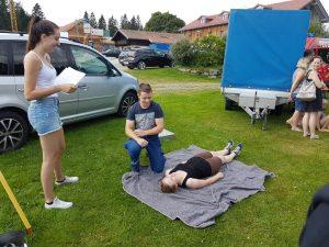 Zeltlager 2018 - Abnahme Jugendflamme