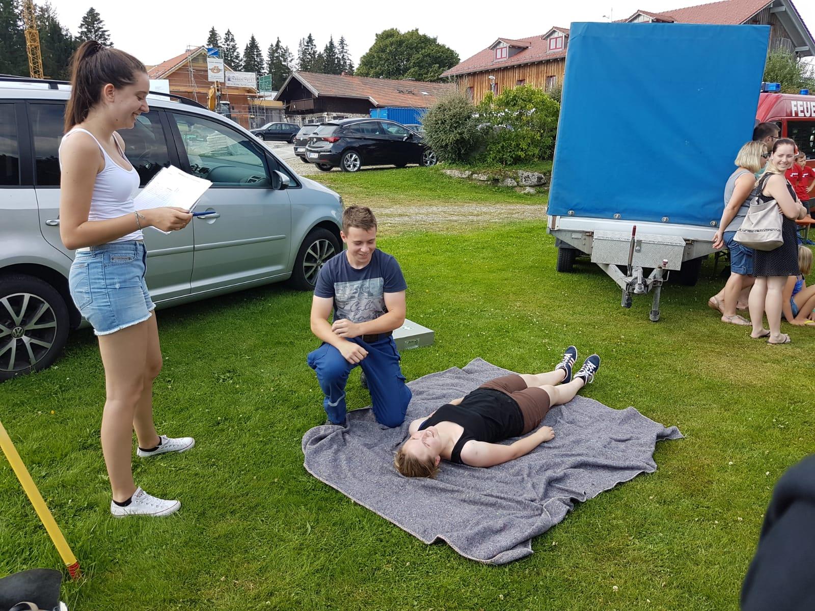 Zeltlager 2018 – Abnahme Jugendflamme