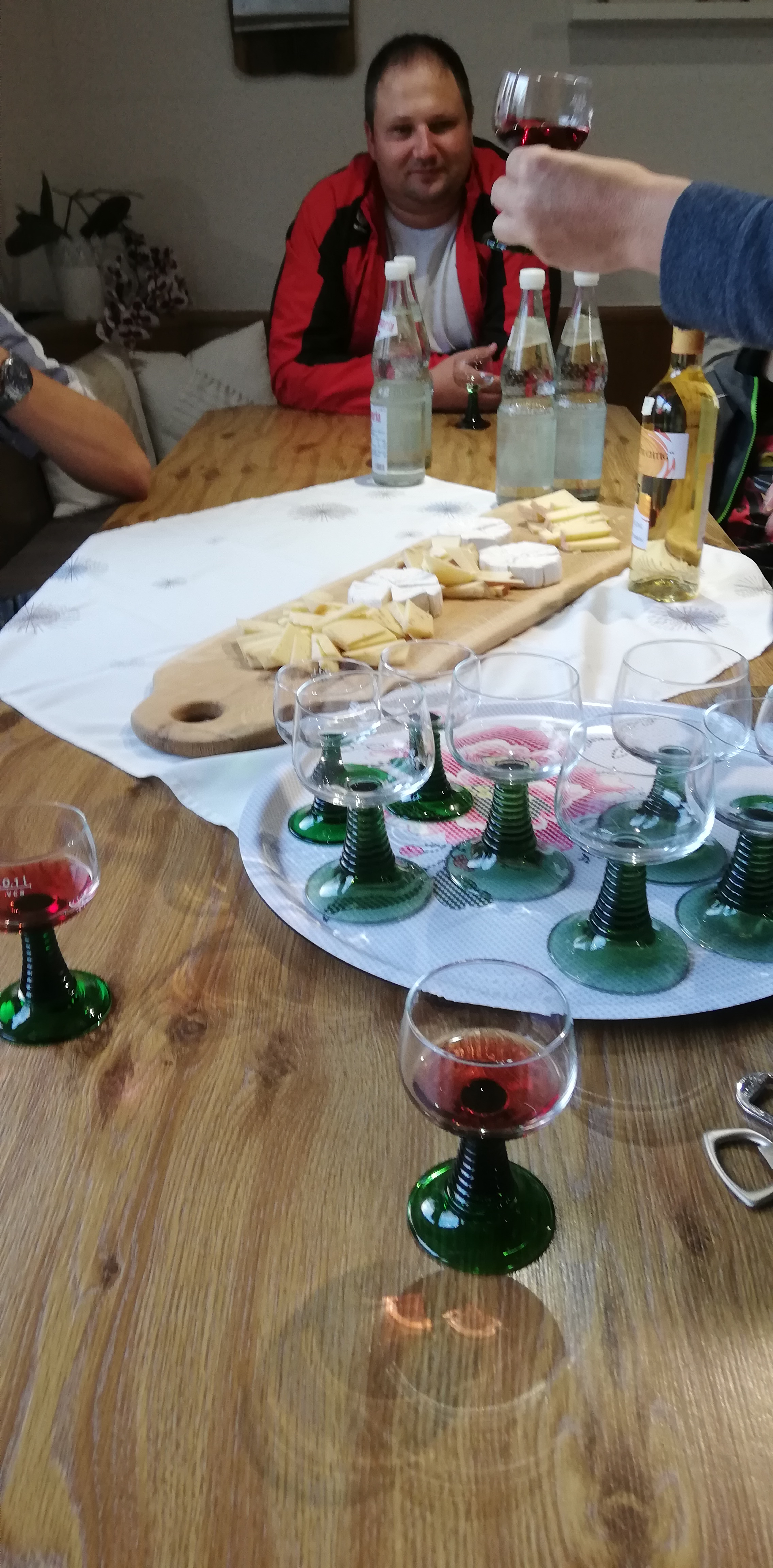 Weinprobe 2018 – Es ist angerichtet!