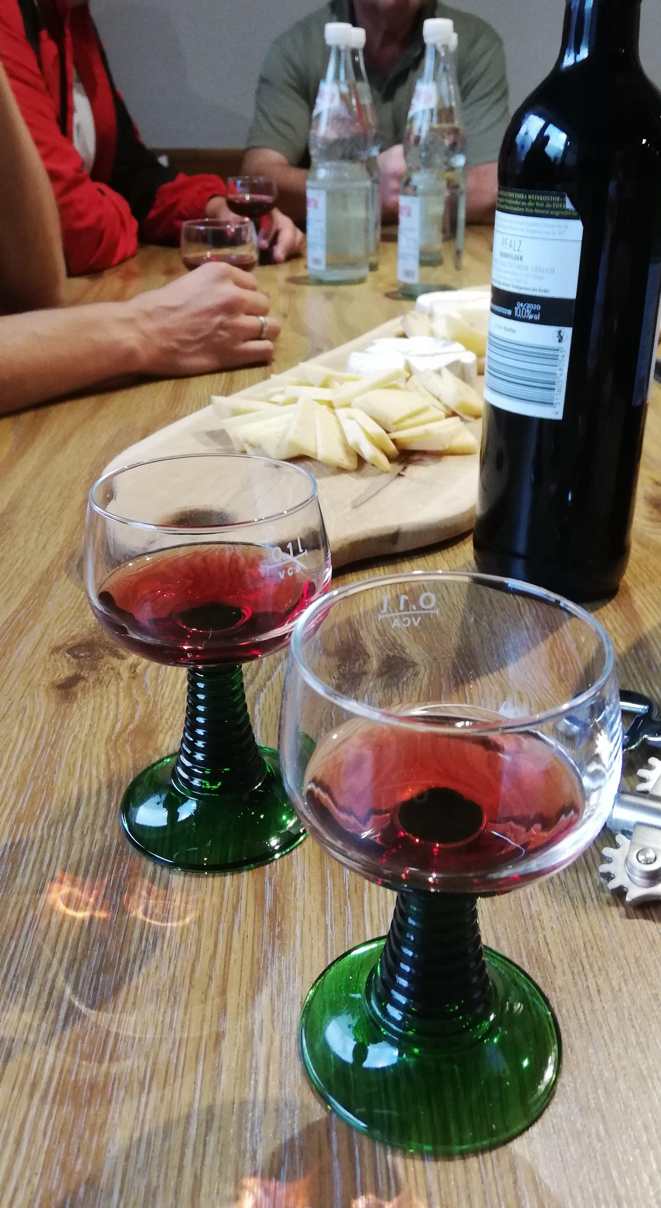 Weinprobe im Annalon