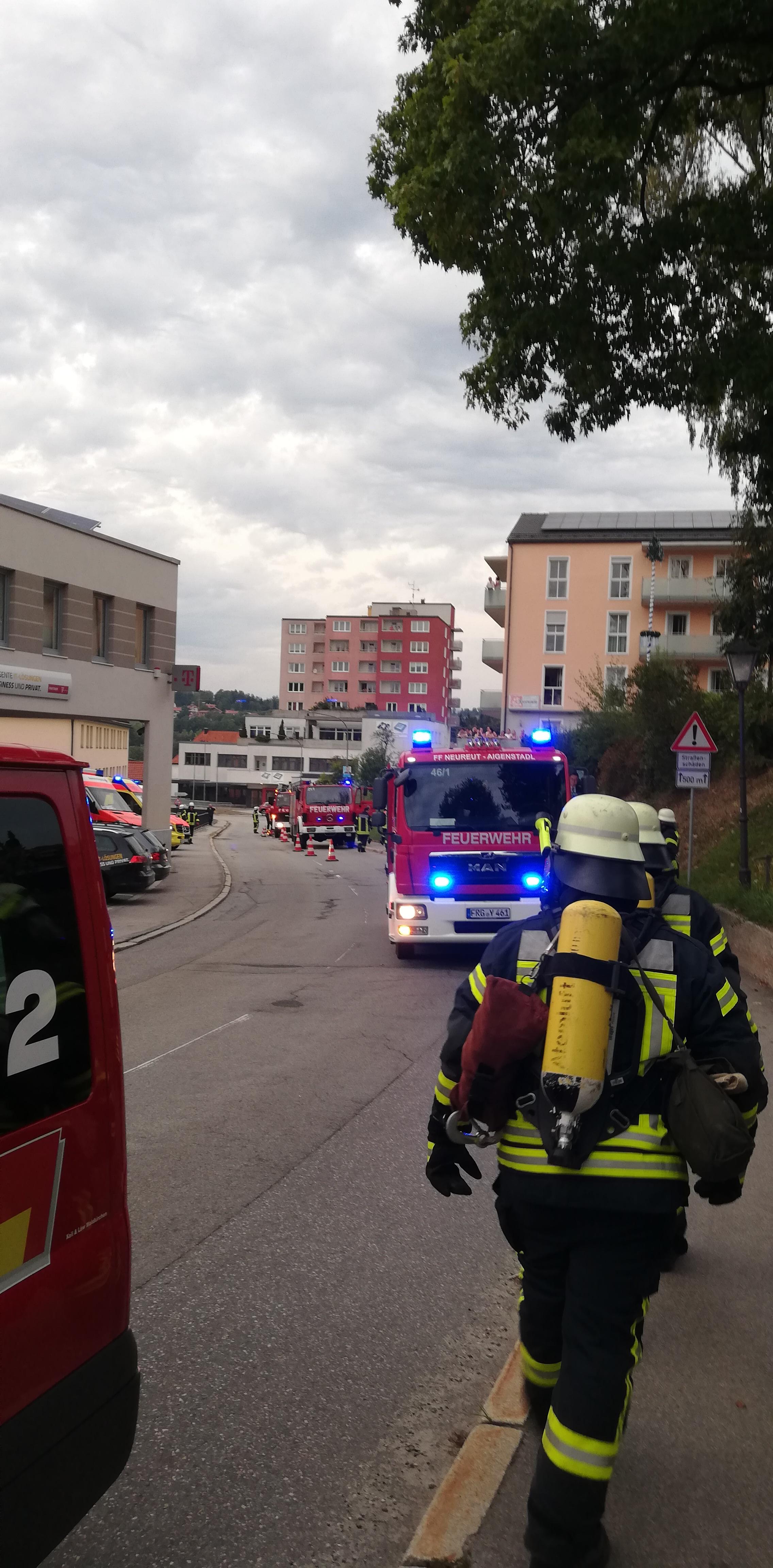 Gemeinschaftsübung zur Brandschutzwoche 2018