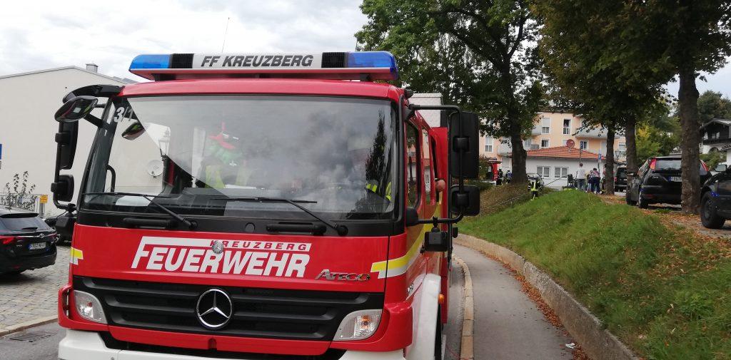 Brandschutzwoche 2018 - Ankunft am Übungsort