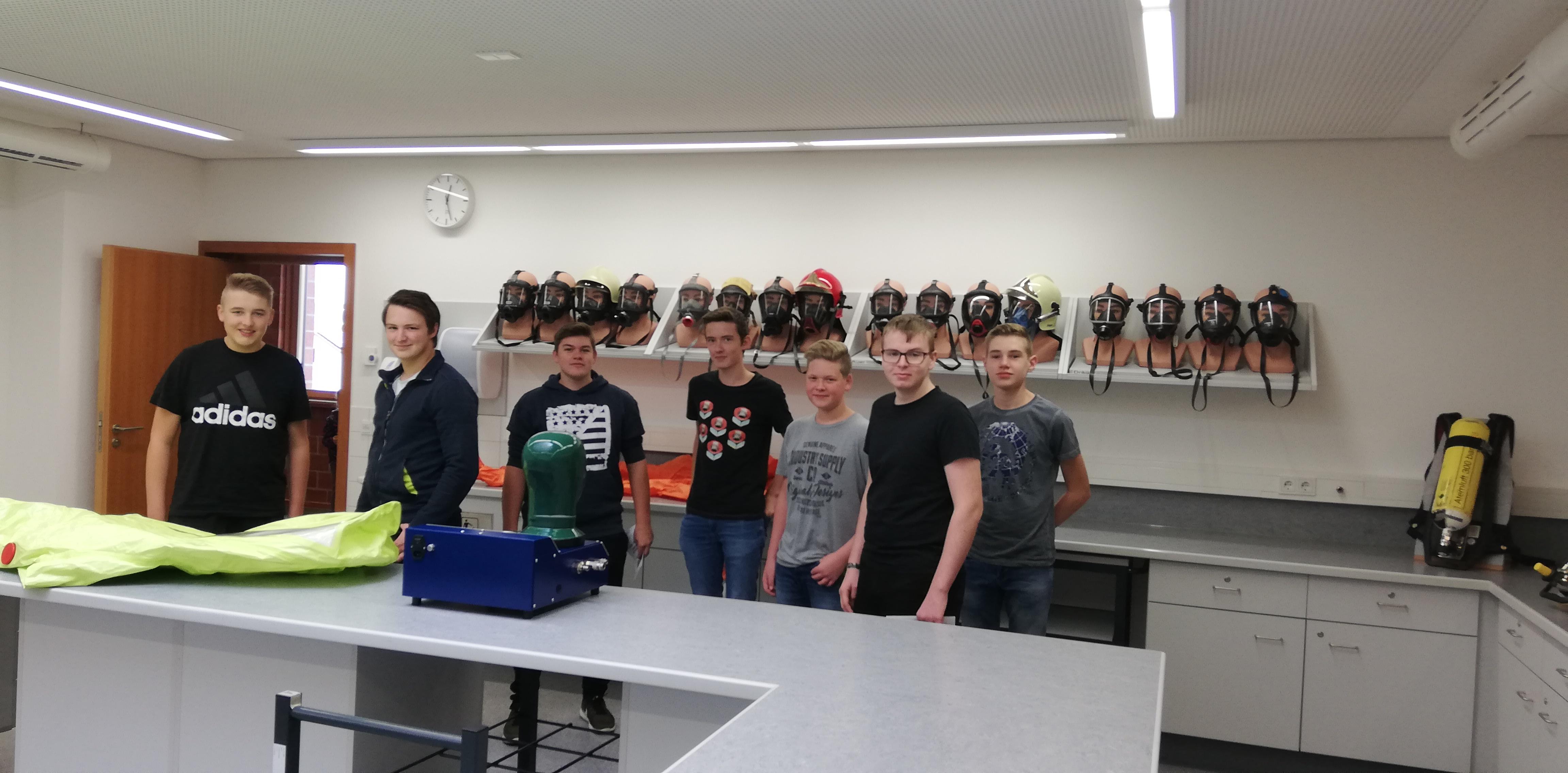 Feuerwehrschule Regensburg - Gruppenbild