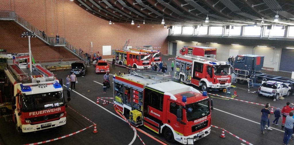 Feuerwehrschule Regensburg - Übungshalle