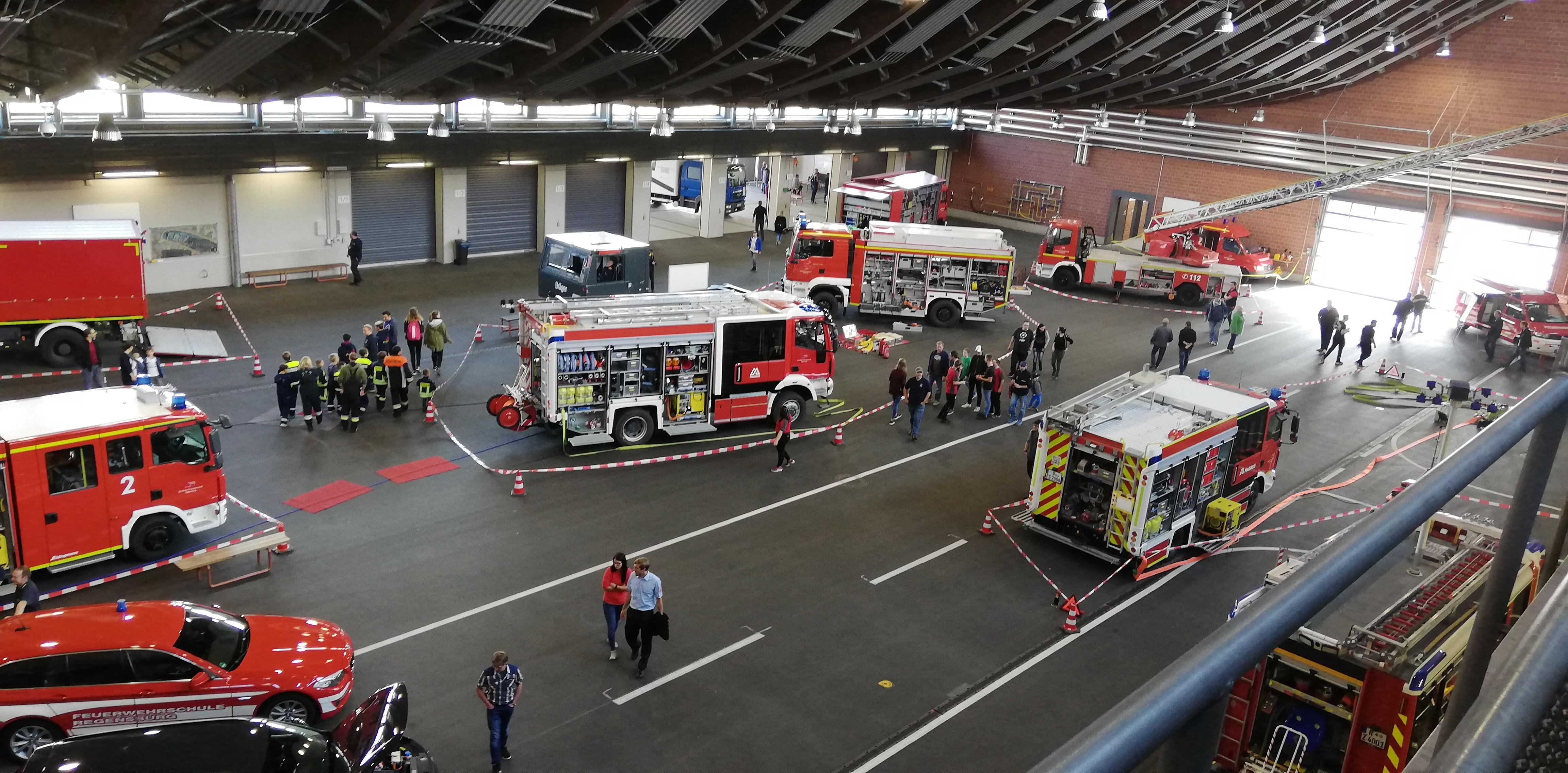 Feuerwehrschule Regensburg – Übungshalle