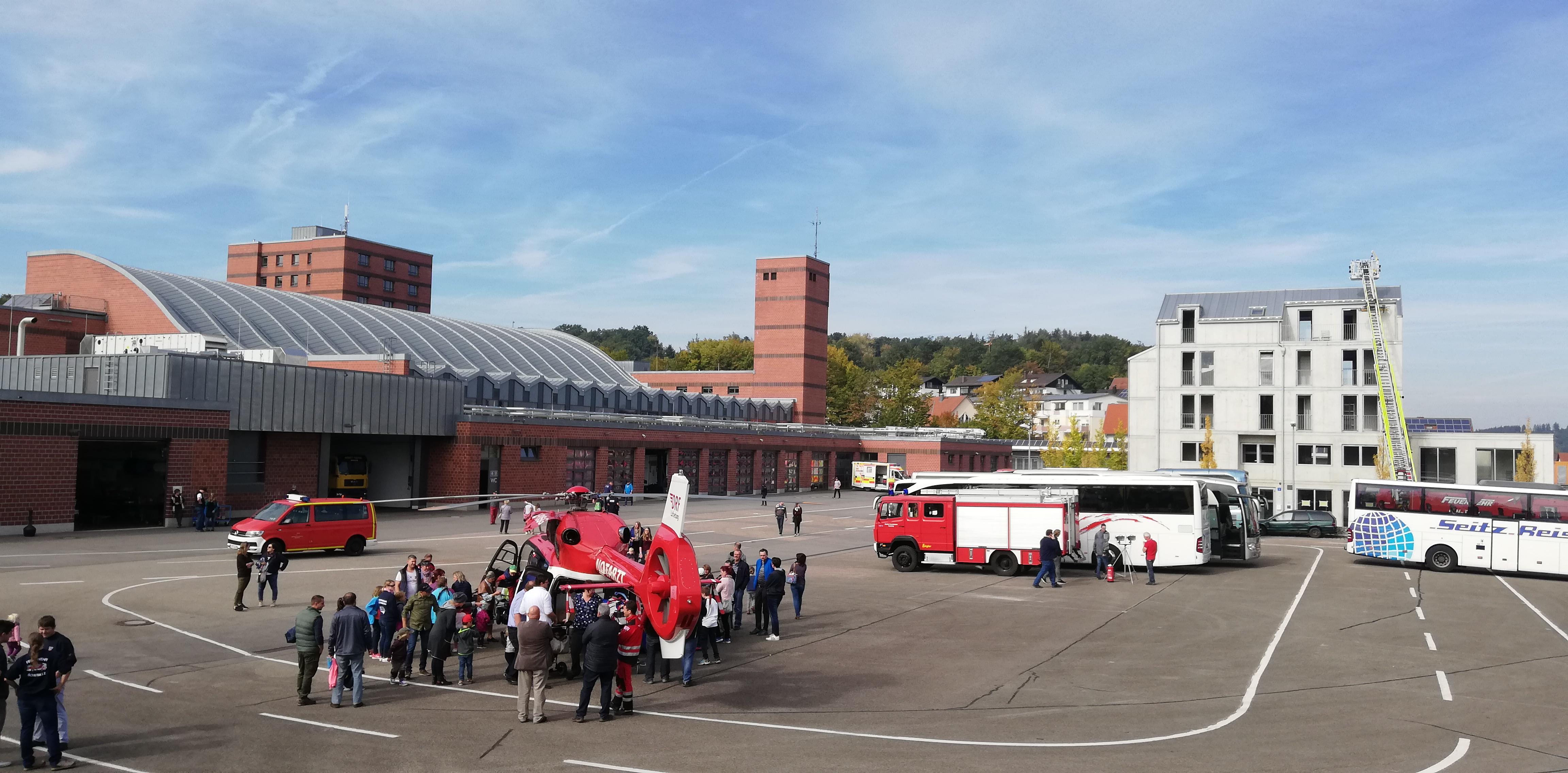 Feuerwehrschule Regensburg – Übungsfläche