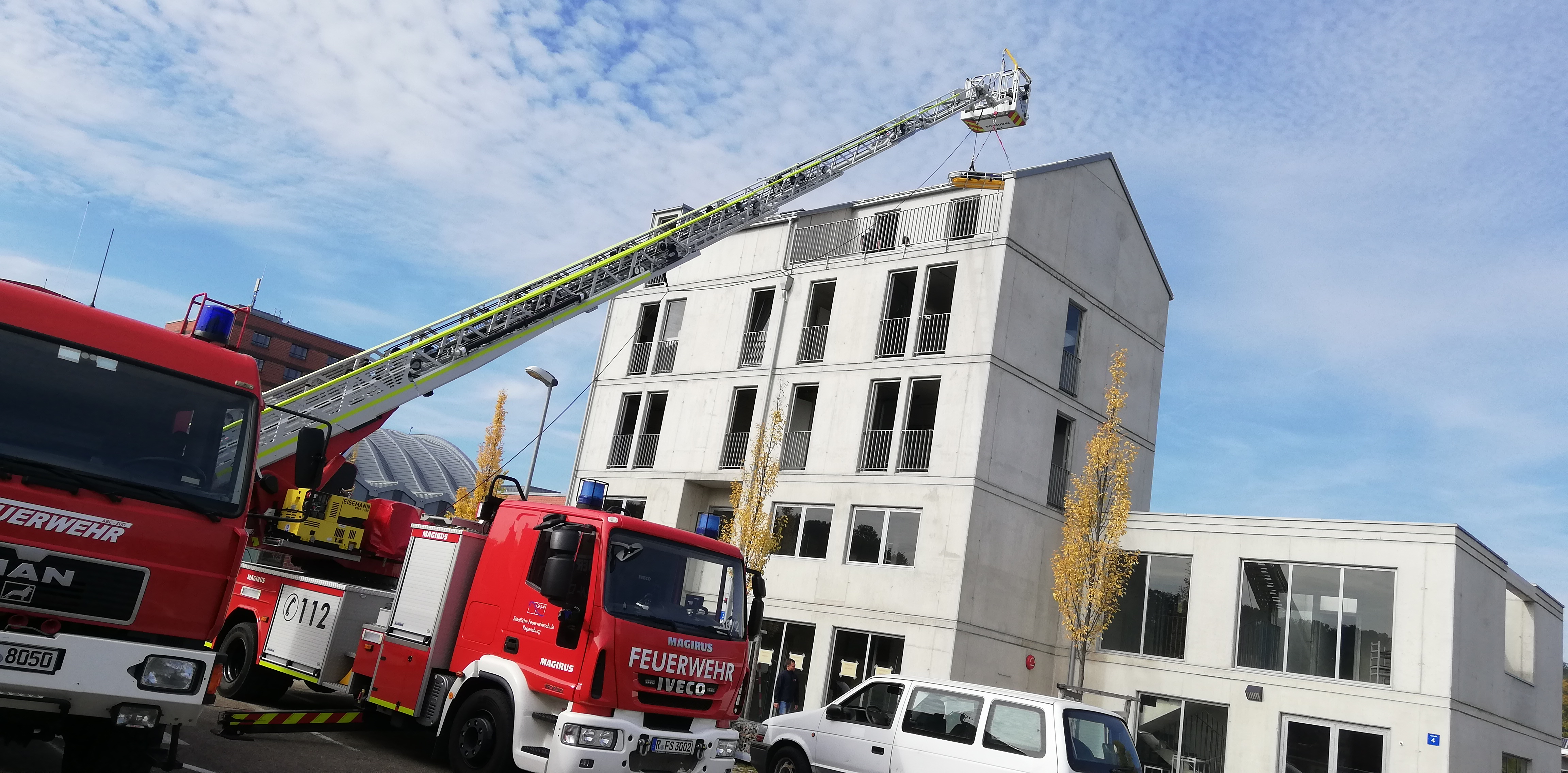 Feuerwehrschule Regensburg - Übungshaus