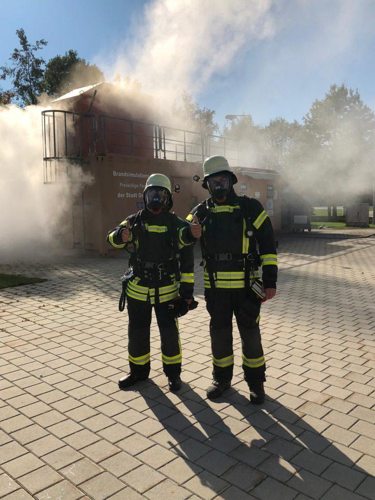 Brandsimulationsanlage in Osterhofen