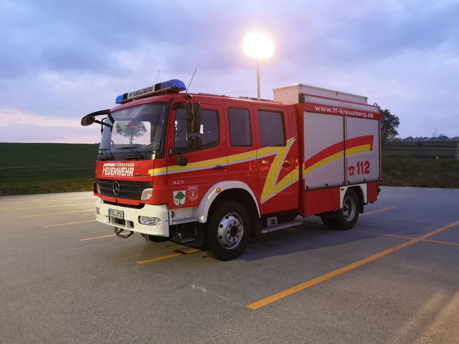 Grundlagen - Brandbekämpfung: Umgang mit Beleuchtungsgerätschaften