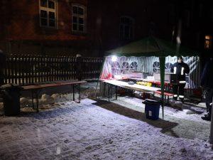 Weihnachtskonzert - Grillstation