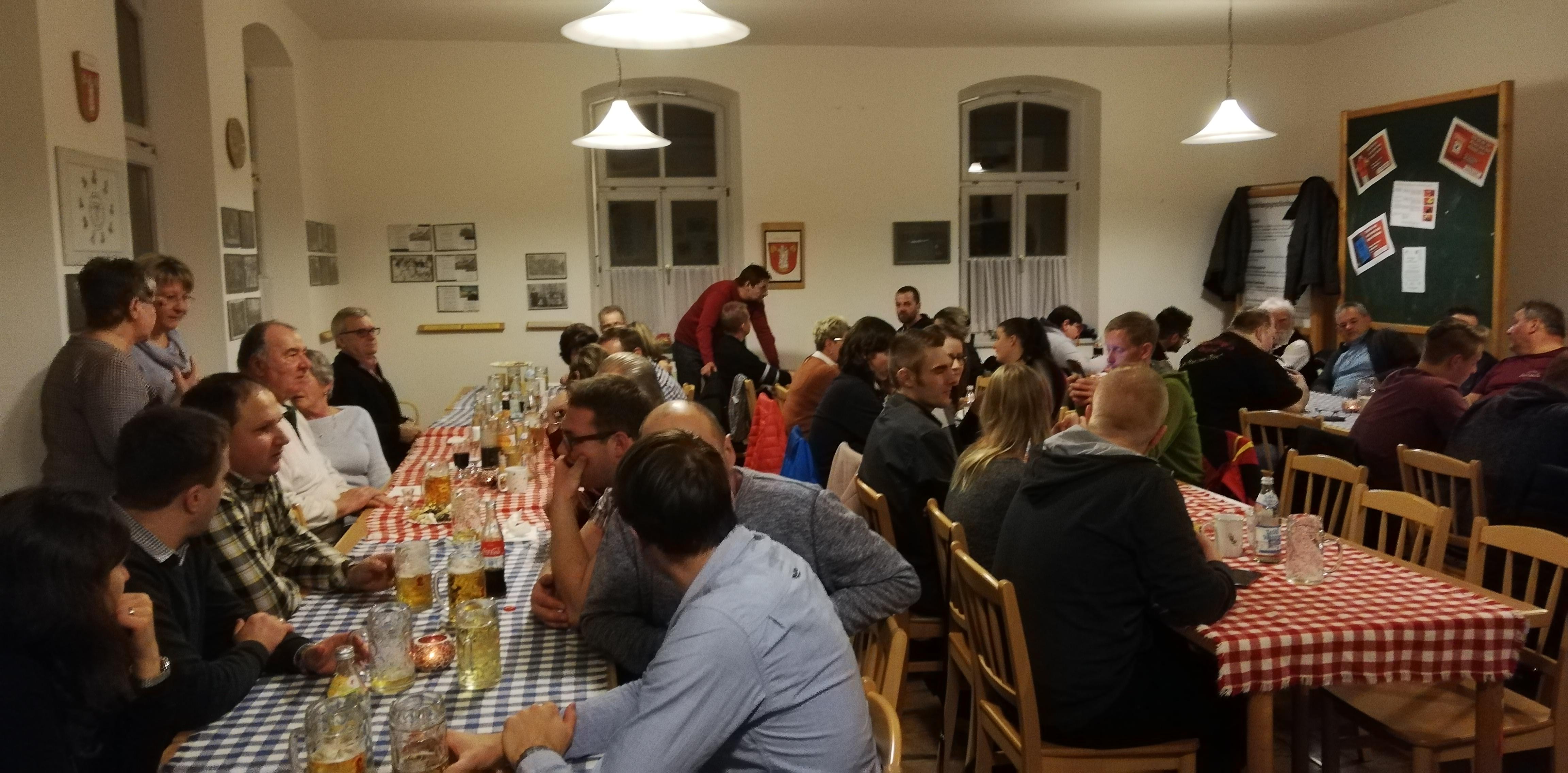 Jahresabschlussfeier 2018 - Kreuzberger Raum
