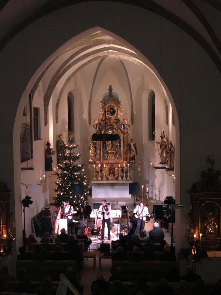 Weihnachtskonzert - Bilder aus der Kreuzberger Kirche