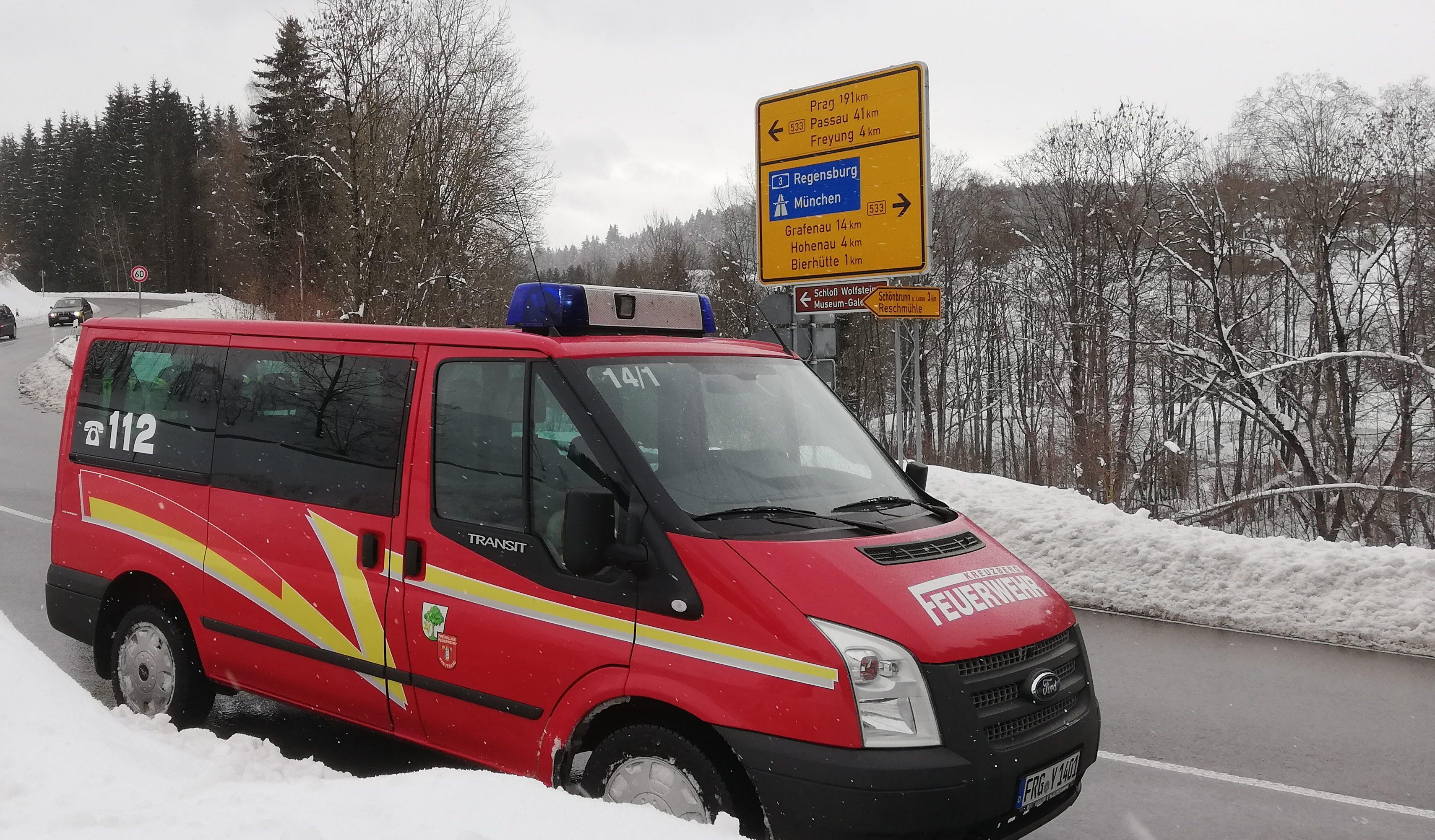Verkehrslenkung B533 – Reschmühle