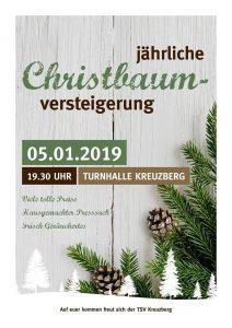 Christbaumversteigerung TSV