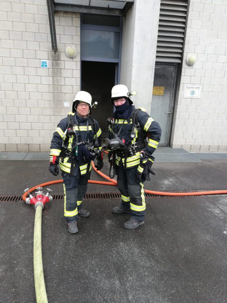 Stefan Seidl und Kevin Frank in Würzburg