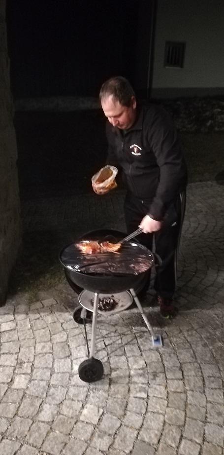 Feuerwehrhaus Kreuzberg - Angrillen 2019