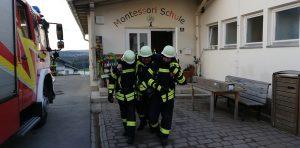 Gemeinschaftsübung - Bierhütte/Kreuzberg - Personenrettung