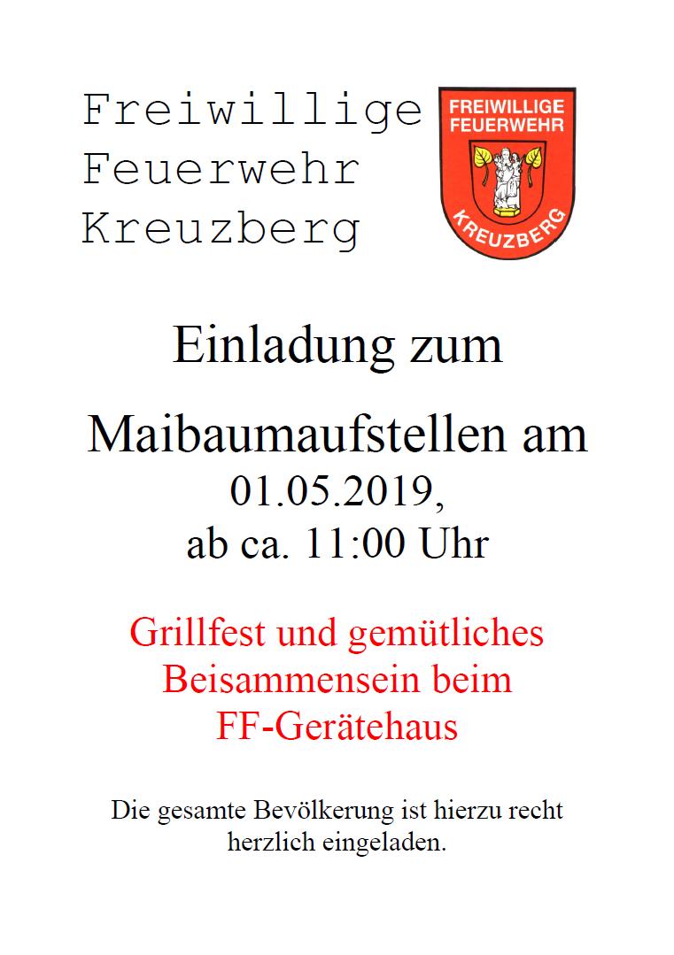 Flyer - Maibaum 2019