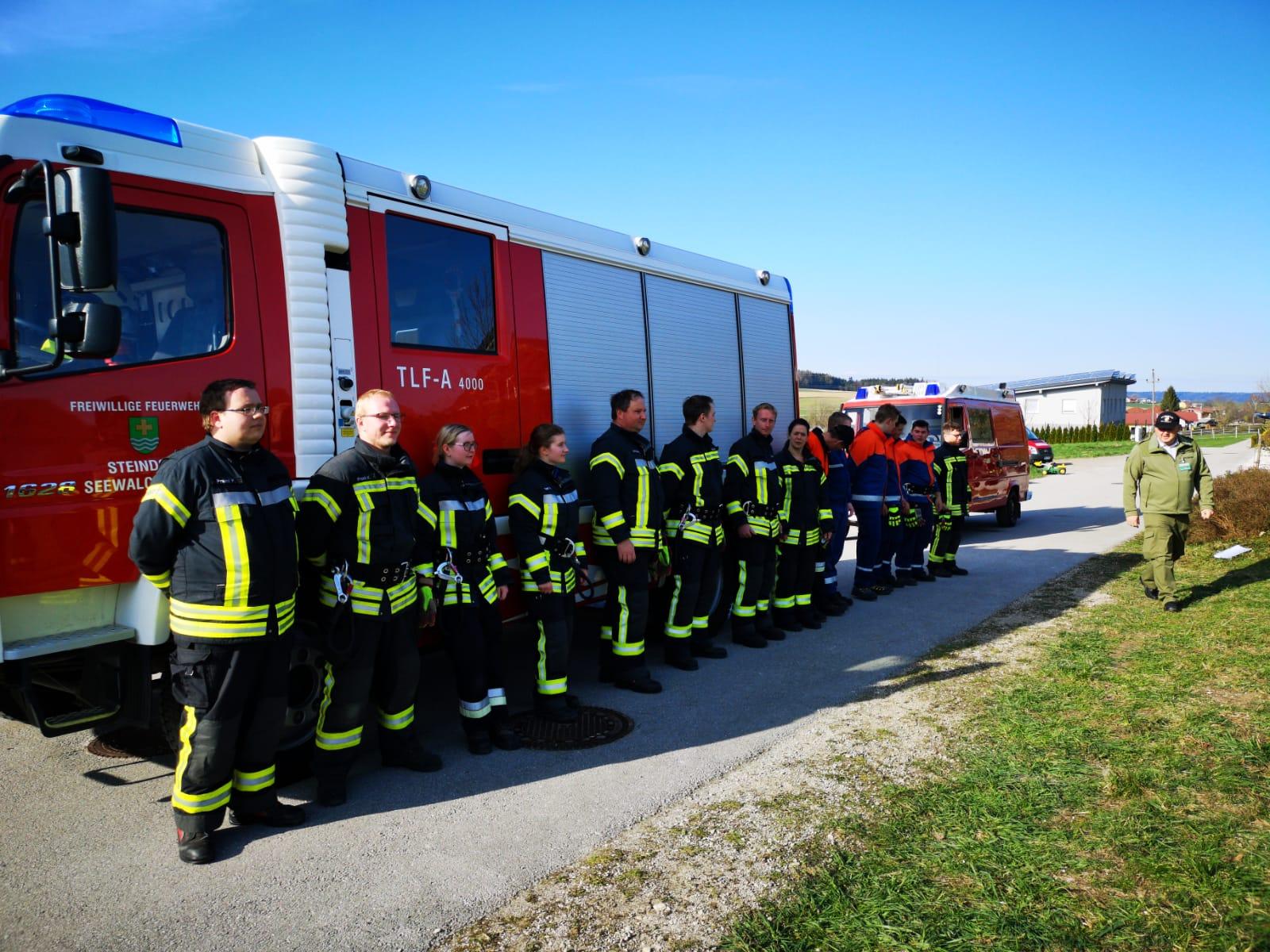 THL Leistungsabzeichen Steindorf – Teilnehmer der Leistungsprüfung
