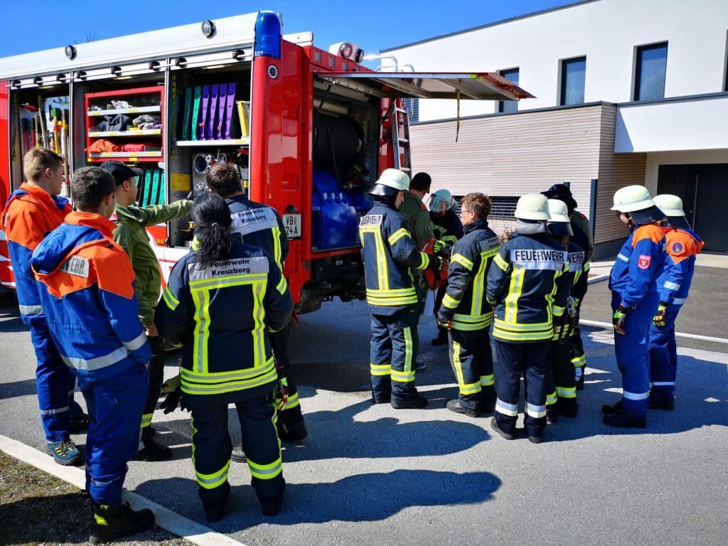 THL Leistungsabzeichen Steindorf - Fleißig am Lernen: Gerätekunde