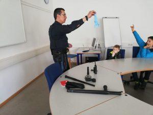 Kinderfeuerwehr - Große Fragerunde
