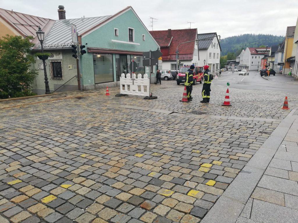 Stadtlauf 2019 - Bei der Arbeit.