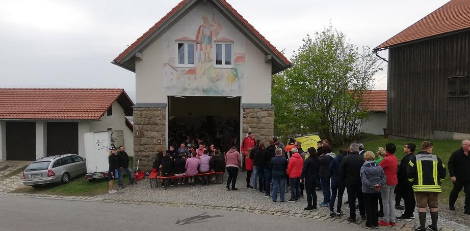 Maibaum 2019 - Maifest am Feuerwehrhaus.