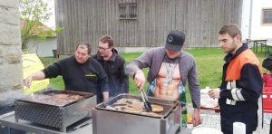 Maibaum 2019 - Maifest am Feuerwehrhaus - Mit den Grillmeistern