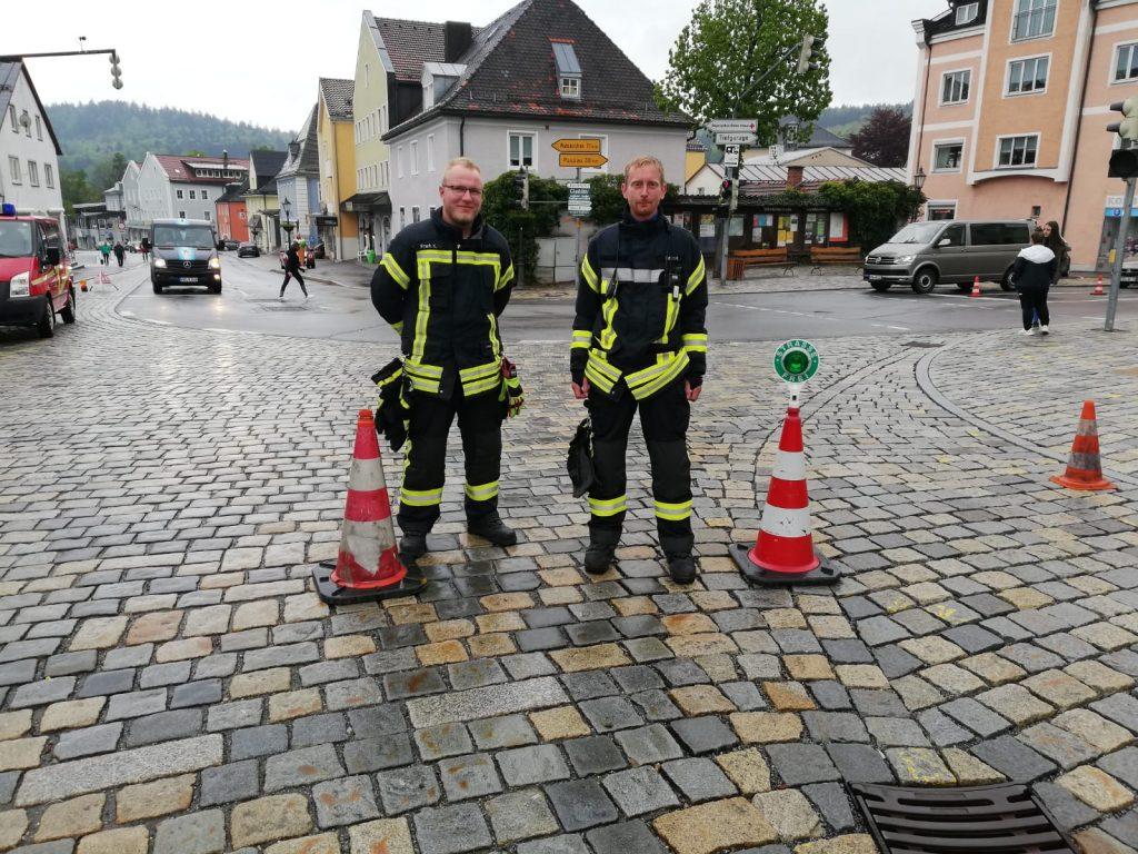 Stadtlauf 2019 - Kevin und Hannes