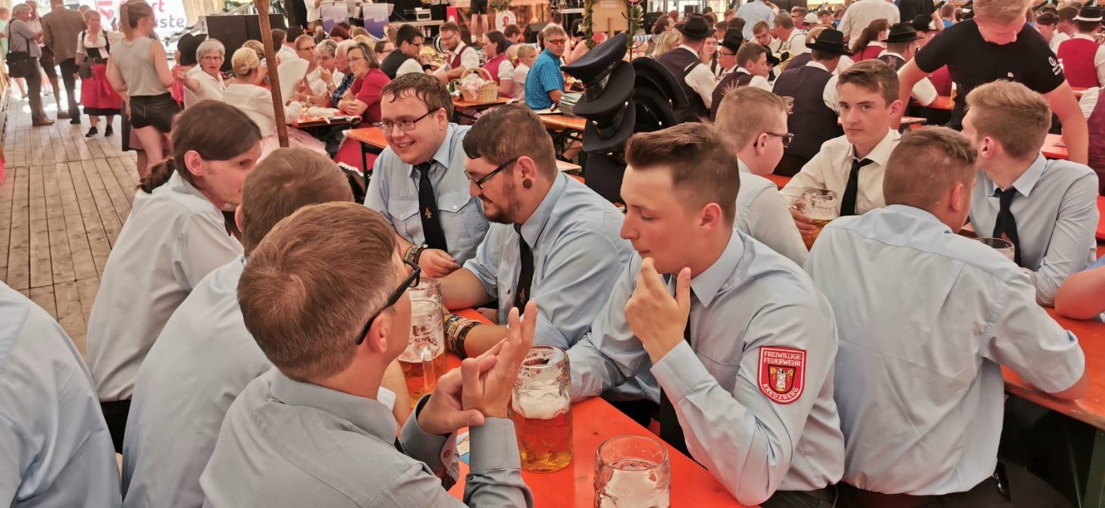 Volksfest 2019 – Im Festzelt