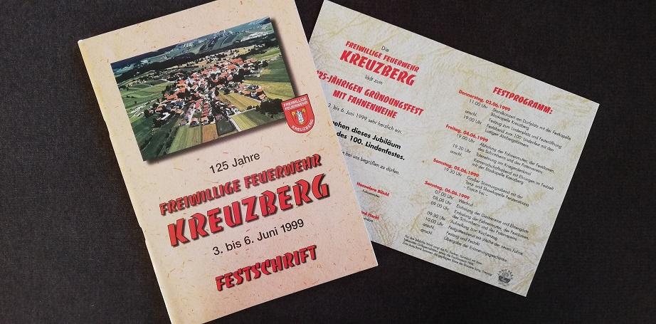 FF Kreuzberg – Festschrift – 125 Jahre