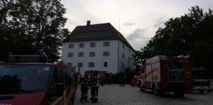 Übung - Schloss Wolfstein: Ende der Übung