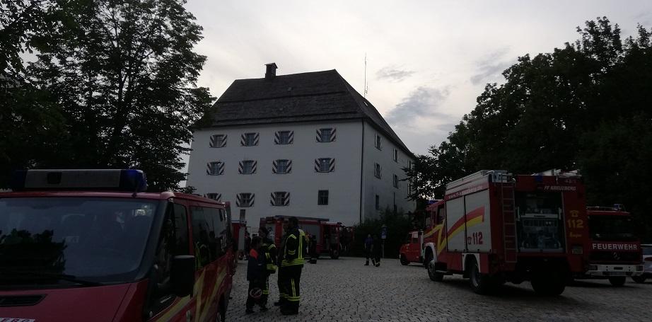 Übung – Schloss Wolfstein: Ende der Übung