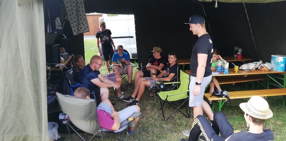 Jugendzeltlager 2019 - Zusammen in unserem Mannschaftszelt