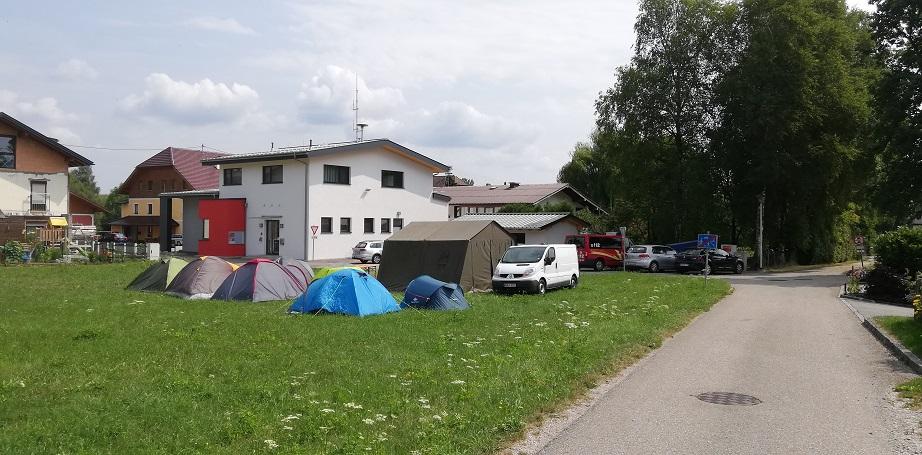 Jugendzeltlager 2019 - Gerätehaus der FF Steindorf
