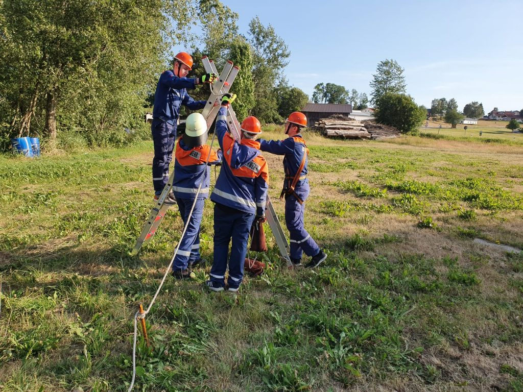 Jugendübung 10.07.19 - Übung Teamwork