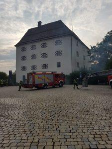 Übung - Schloss Wolfstein: Beginn der Übung