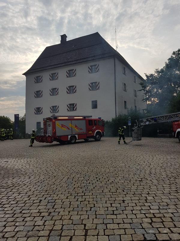 Übung – Schloss Wolfstein: Beginn der Übung
