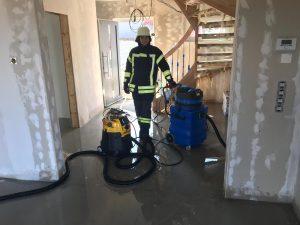 Einsatz 04.08.2019 - Wasser in Gebäude